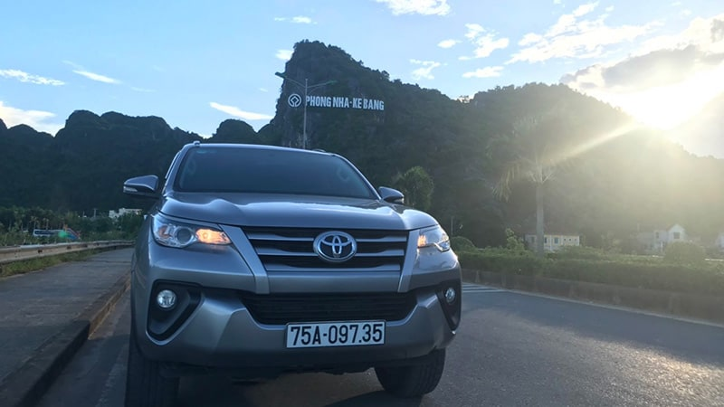 phong nha to hoi an private car
