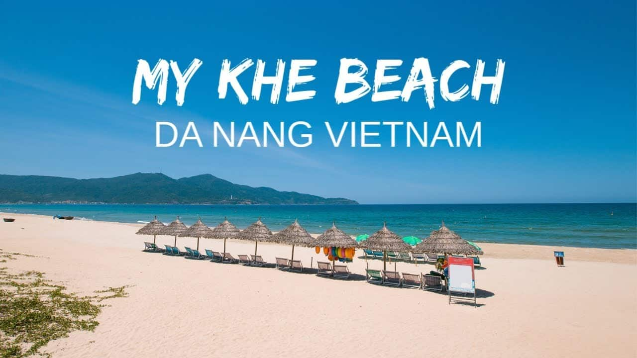 My Khe Beach in Da Nang City