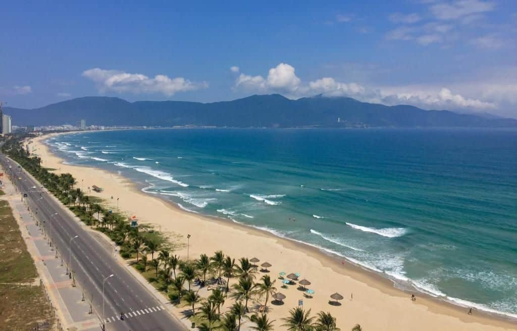 Tien Sa Port to Danang - my khe beach