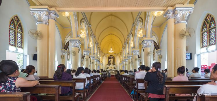 danang car rental - Da Nang Cathedral