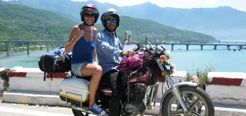 Travel From Hoi An to Hue by motorbike
