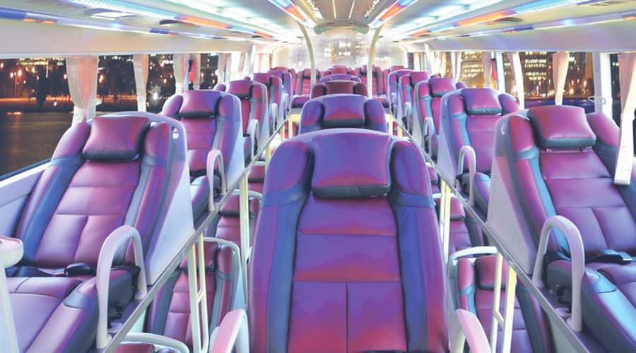 Travel From Da Nang to Nha Trang by bus
