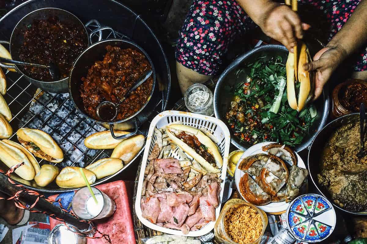 Banh Mi in Hue Vietnam