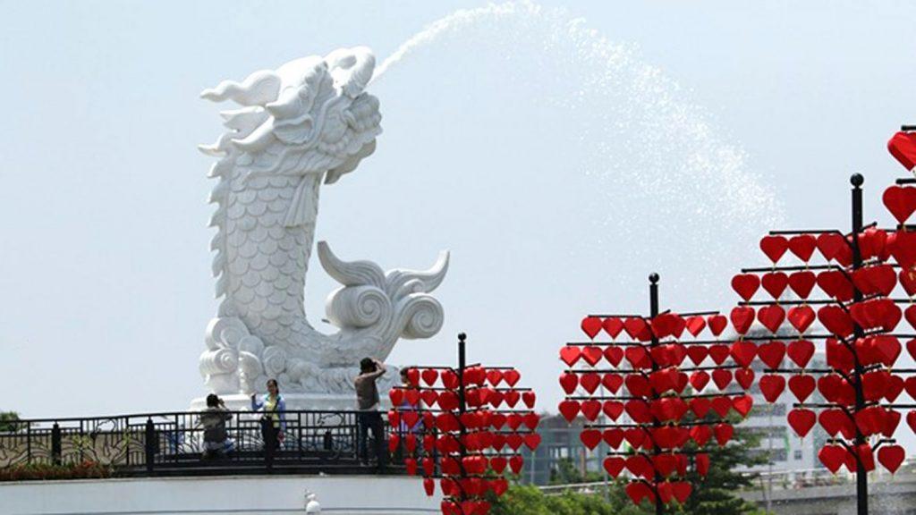 Love Bridge in Vietnam