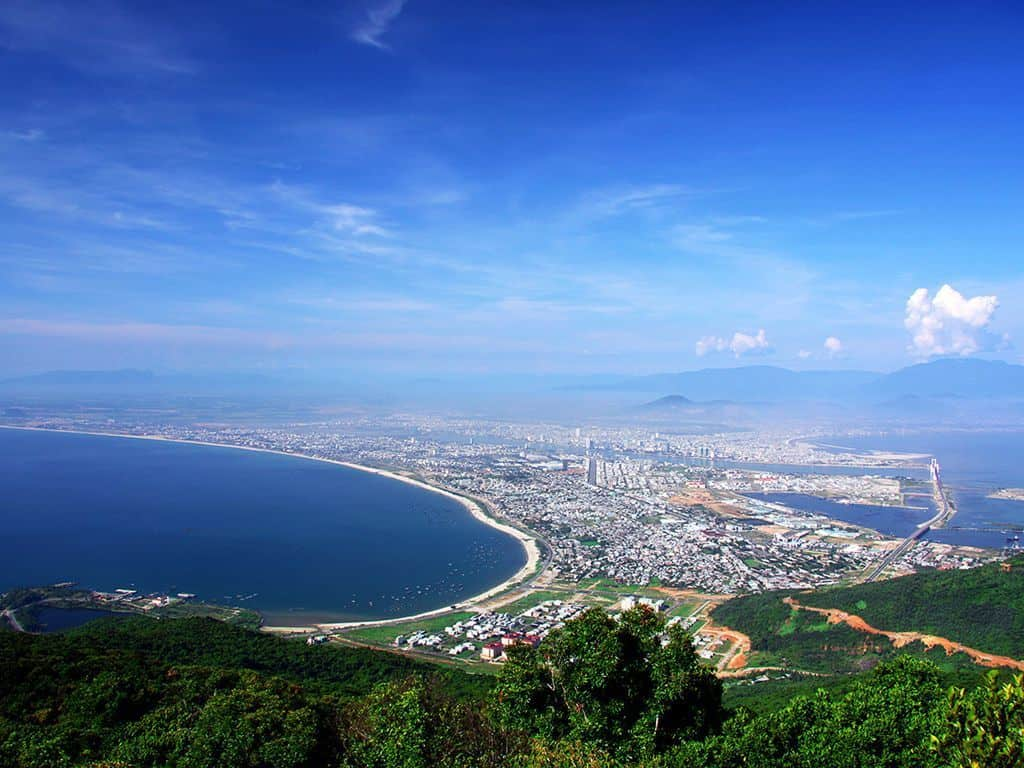 Son Tra Peninsula in Danang vietnam
