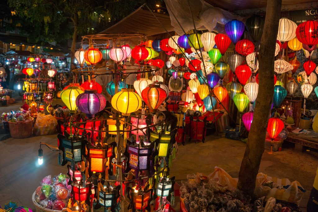Hoi An Country Side - lantern maker